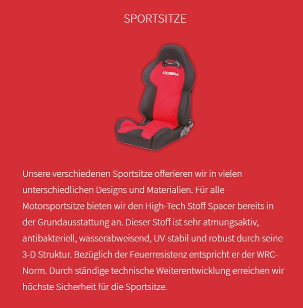 Sportsitz-Anbieter für  Hodenhagen